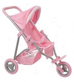 Corolle Baby Doll Jogging Stroller