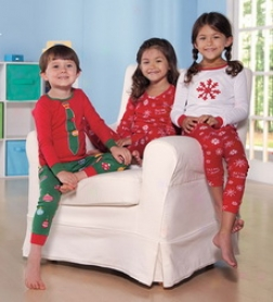 Cotton Long-sleeve Christmas Pajamas Determined By Hatley
