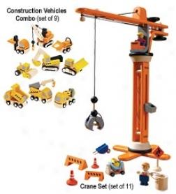 Crane Set, Set Of 11