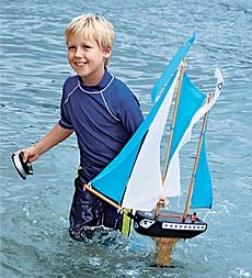 Davilon Durable Replica Sailing Boat