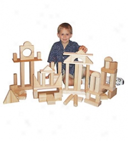 Deluxe Block Set, 68 Pieces