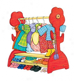 Doll's Flower Clothing Rack