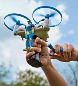 Durable Plastc Hexiflyer Set With Zipline Trigger