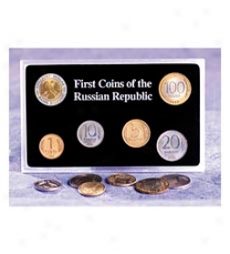 First Coins Of The Russian Republic Collector Set