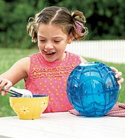 Blue Play And Freeze Ice Cream Maker