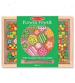 Flower Poewr Bead Set