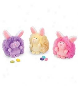 Fluffy Easter Puffs, Set Of 3