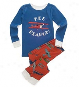 "Flying Bears ""red Bearon"" Pjs Fix"