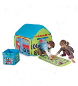 Garage Pop Tent And Garage Storage Cube And Mat Special