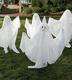 Garden Ghosts, Set Of 4