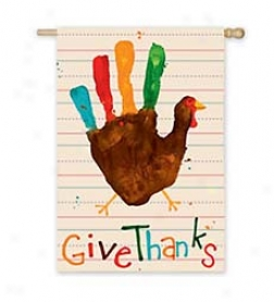 Give Thanks Flag