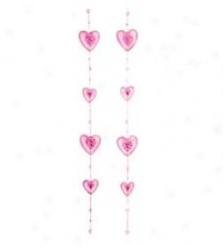 Glitter Heartt Garlands