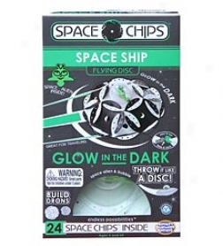 Glow-in-the-dark Space Chips, Set Of 24