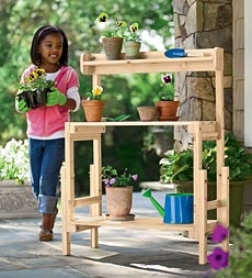 Grow-with-me™ Potting Bench