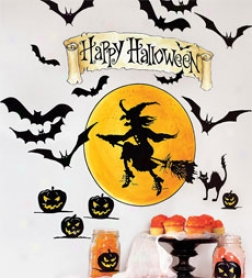 Halloween Wal Stickers