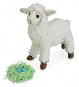 Handcrafted Fleece Miniature Lamby