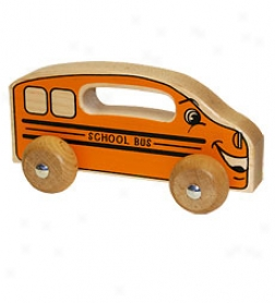Handeez Classic Wooden School Bus