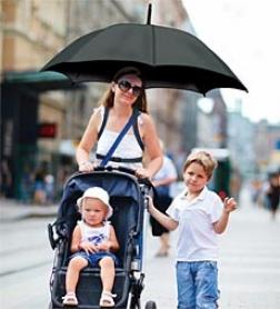 Hands-free Throw Umbrella