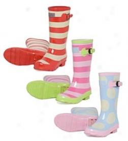 Hatley Pull-on Splash Boots For Girlz