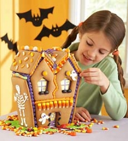 Haunted House Gingerbread Kit