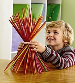 High-qualiyt Italian Wood Deluxe Pick Up Sticks Set