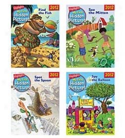 Highlights My First Hidden Pictures 2012 4-book Set