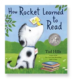 How Rocket Learned To Read Picture Book