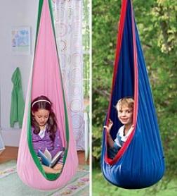 Hugglepod™ Ijdoor/outdoir Canvas Hangjng Chair