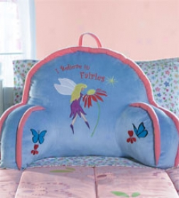 I Believe In Fairies Lounge Pillow