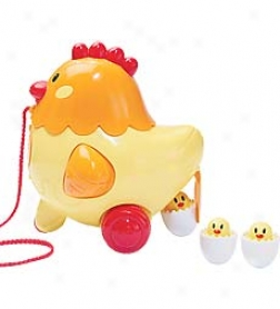 I-play Battery Operated Henrietta Hen Pull Along Toy
