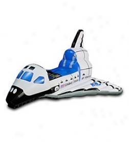Indoor/outdoor Jr. Space Explorer Inflatable Space Shuttle