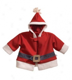 Infant Santa Coat