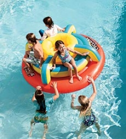Inflatable Cyclone Spinner Poo Buoy up