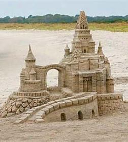 Sand Sculpting BucketA nd Form Set