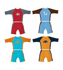 Iplay Upf 50+ Boys' Sun Suit