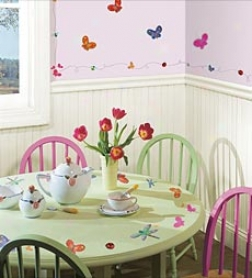 Jelly Bugs Wall Stickers Set