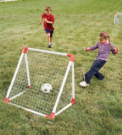 Junior Soccer Goal Set In the opinion of High-impwct Vinyl Nets