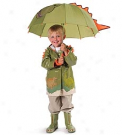 Kieorable Dino Rain Jacket