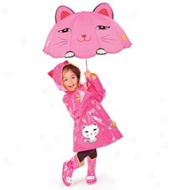 Kidorable Kitty Rain Jacket