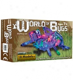 Laser Pegs World Of Bugs Set