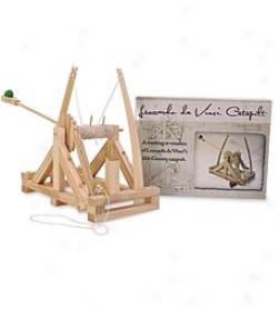 Leonardo Da Vinci's Bent Wood Catapult Kit