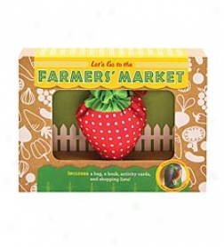 Let's Go To The Farmers Market Kit With Booklet, Activity Cards, And Reusable Tote Sack