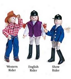 Lucky Horseshoe Ridder Puppet