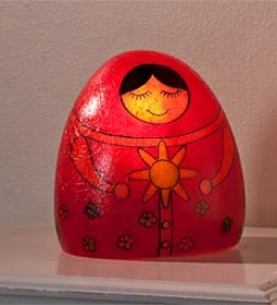 Matryoshka Russian Doll Lamp