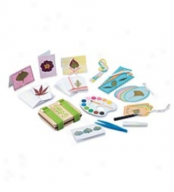 Mini Flower Press Kit With Nature Cards