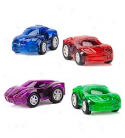 Mini Pull Remote Cars, Set Of 40