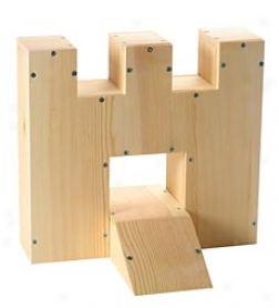 Miniature Golf Fortress Woodworking Kit