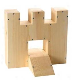 Miniature Golf Fortress Woodworking Kit