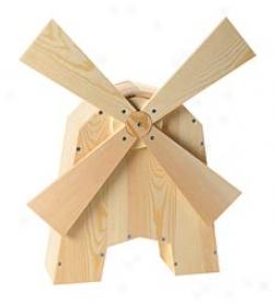 Miniature Golf Windmill Woodworking Kit