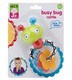 Mix 'n Max Occupy Bug Rattle